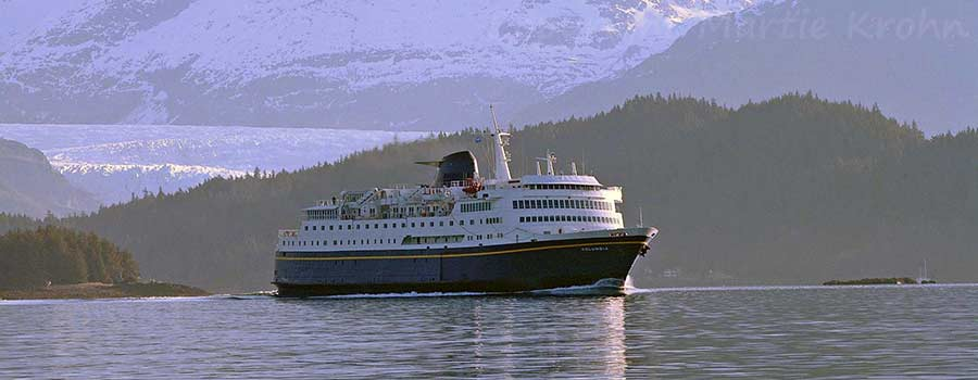Tour Alaska by Ferry and Train!